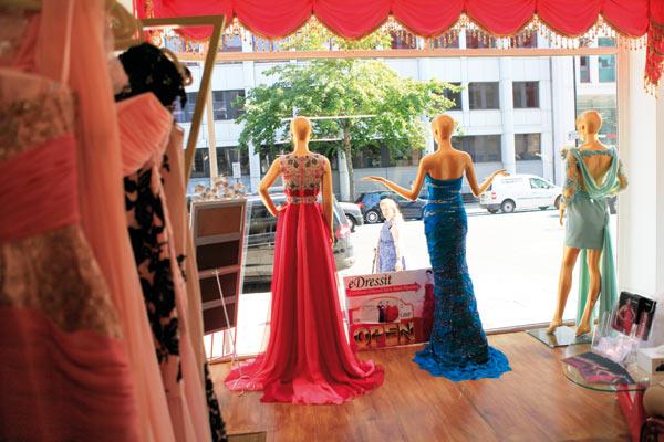 london dress shops