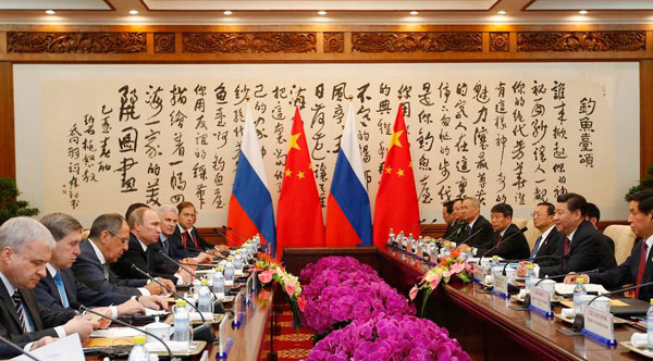 China, Russia ink big energy deals