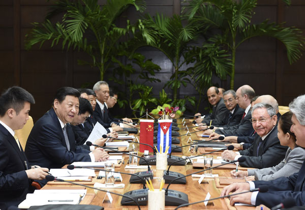 China, Cuba sign cooperation agreements during Xi's visit