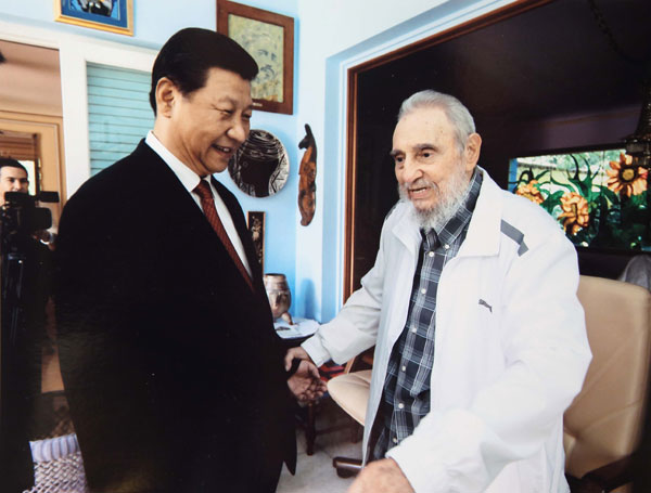 Xi visits old friend Castro