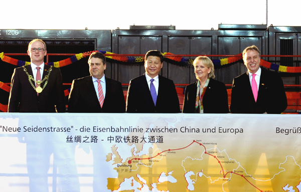 President Xi calls on China, Germany to build Silk Road economic belt