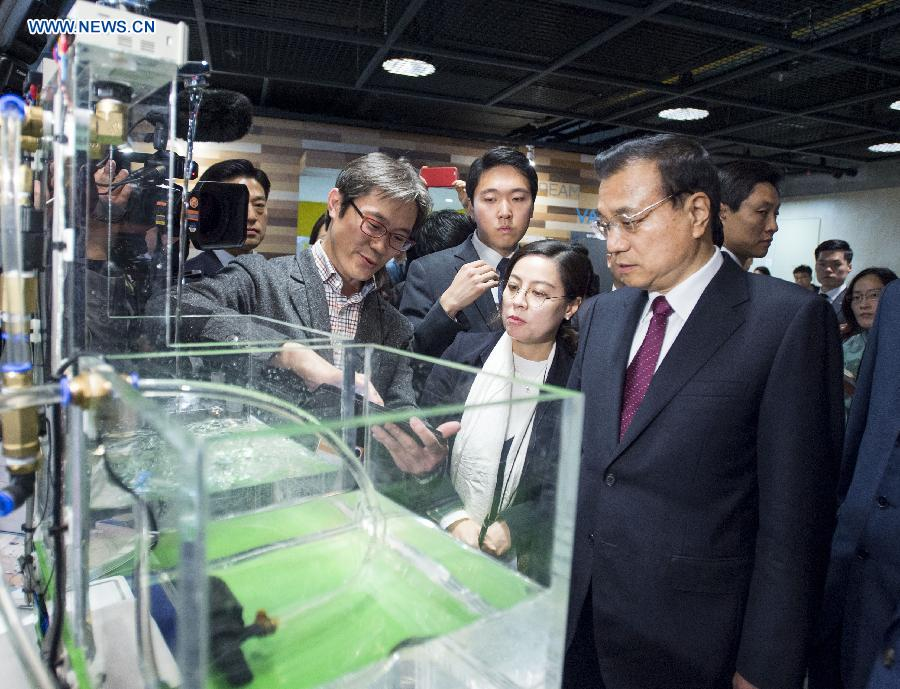 Li calls on China, S  Korea to strengthen youth exchanges in