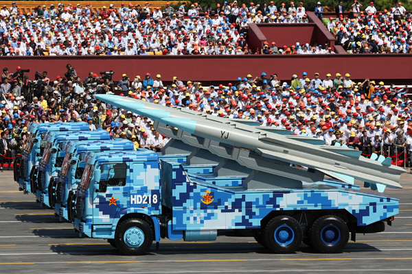 Missile capacity gives PLA cutting edge