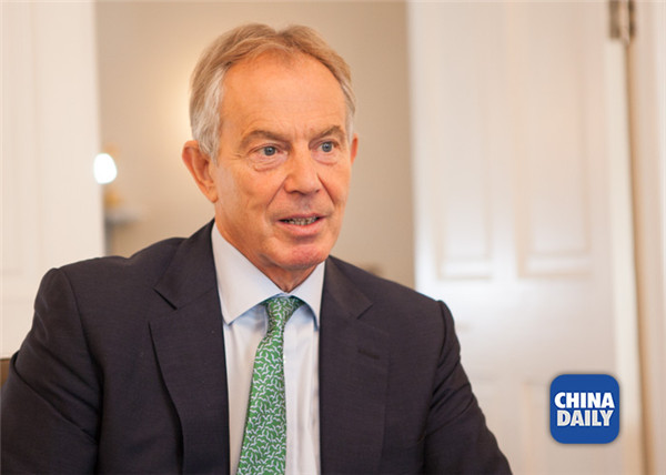 Xi's trip to herald golden decade for China-UK ties, says Blair