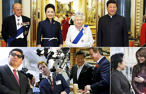 """Image result for China, Britain issue declaration to seal """"global"""" partnership"""