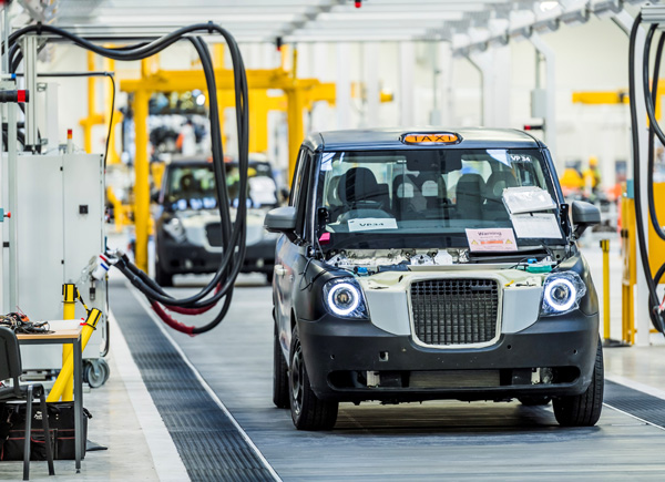 Geely's electric taxi plans create 1,000 British jobs