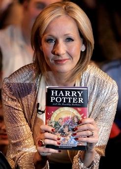 J.K. Rowling writing crime novel