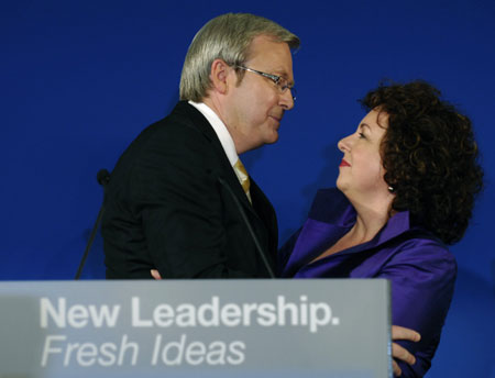 Kevin Rudd Claims Victory In Federal Election