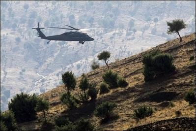 Turkish jets bomb PKK targets in northern Iraq