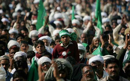 islam world domination rally 2008