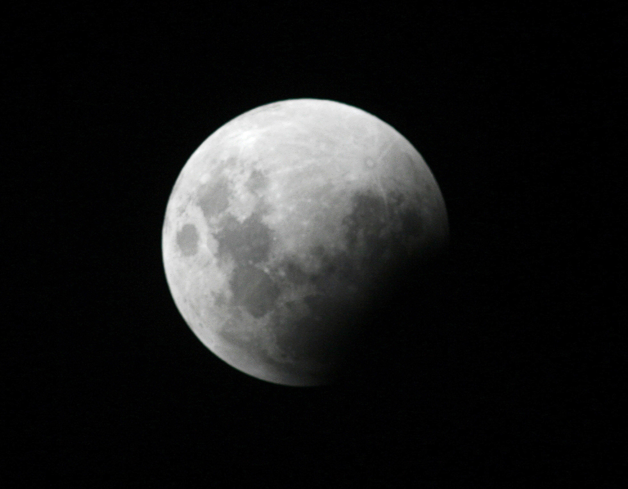 Total Lunar Eclipse Occurs