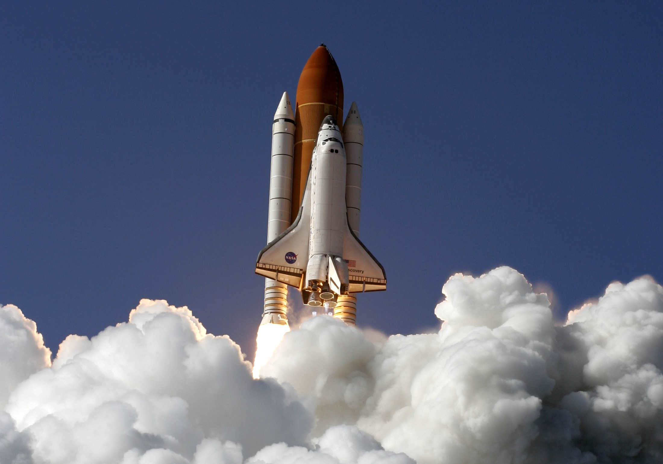 shuttle launch from space station - photo #48