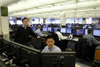 Goldman Sachs Trading Floor trading floor at Goldman