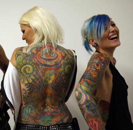 Africa · Videos · Photos. Tattoo expo in Budapest. (Agencies)