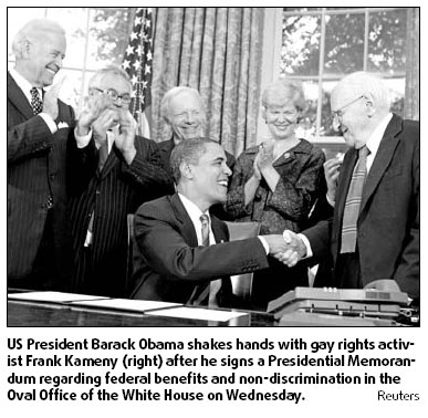Obama gay rights promises