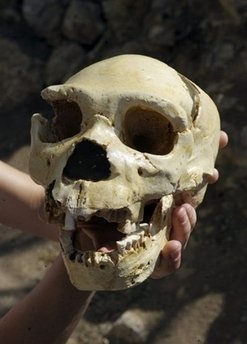 The first Europeans were cannibals: archaeologists