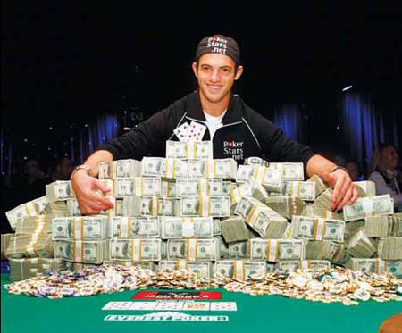 Dropout wins $8.5 million poker jackpot