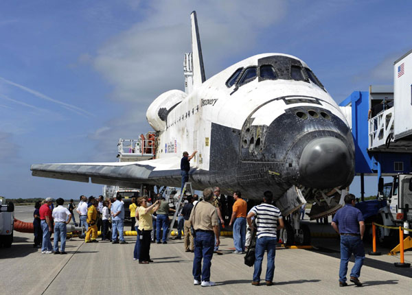 Museums compete for space shuttles