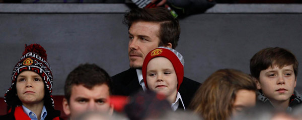 Beckham expecting first daughter in July