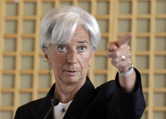 France's Lagarde eyes IMF leadership