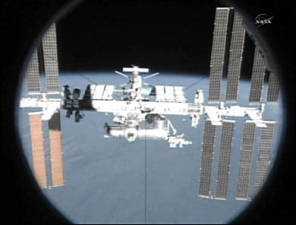 inside space ship docking station - photo #27