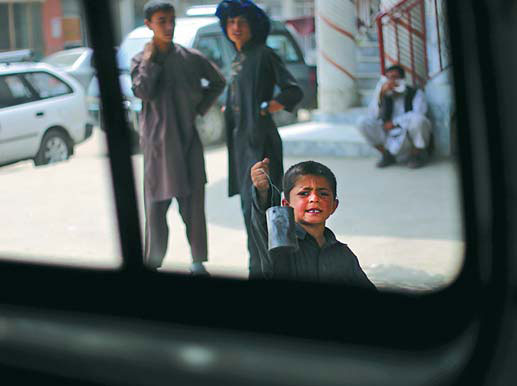 The youngest victims in Afghanistan