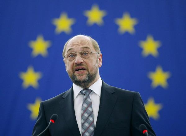 Martins Šulcs uzrunā Eiropu