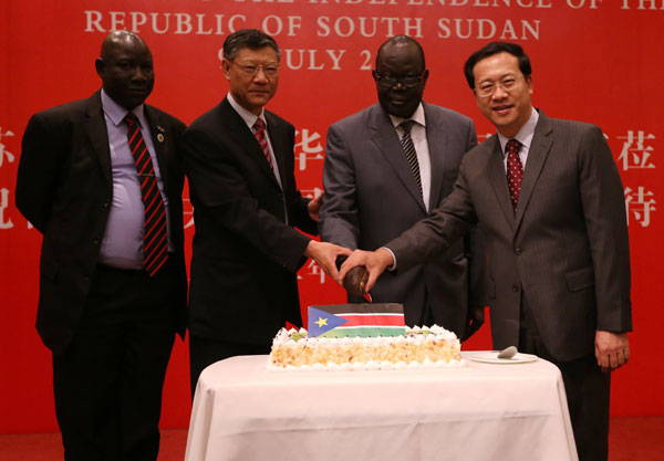S. Sudan celebrates year of freedom