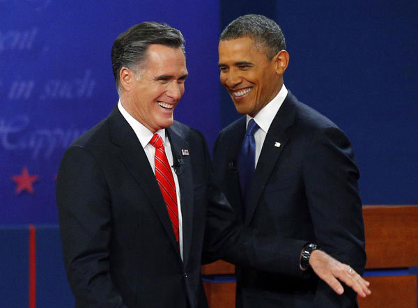 Obama and Romney fight about US economy at debate
