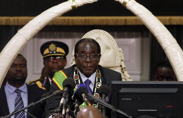 Mugabe calls for peace ahead of Zimbabwe elections