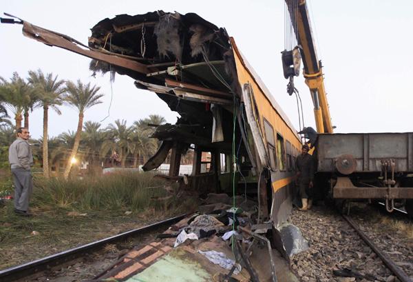 Bloody train derailment shocks Egypt[1]- Chinadaily com cn