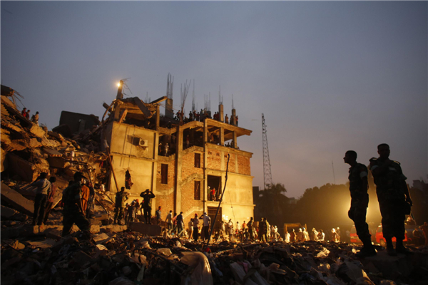 2 arrested as Dhaka building collapse toll reaches 332[1
