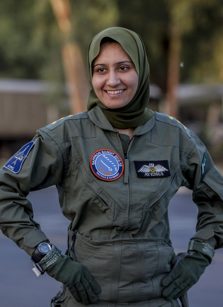 More women join Pakistan Air Force[5]- Chinadaily com cn