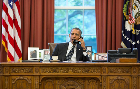 Obama, Iran's Rouhani hold historic phone call