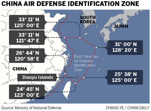 Air zone said not to affect routine flights[1]- Chinadaily.com.cn