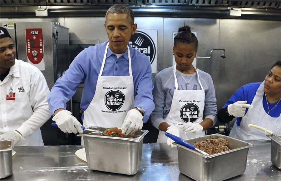 B Monkey Film Obama honors Dr King w...