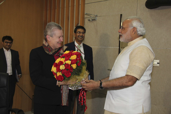 US envoy meets India's Modi
