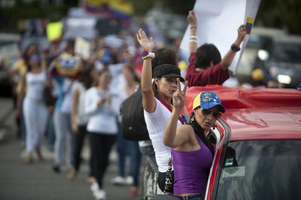 Protest continues in Venezuela