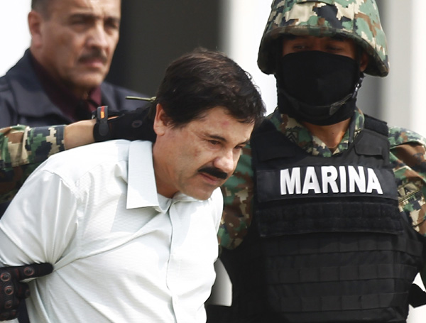 Guzman not likely to be in US court soon