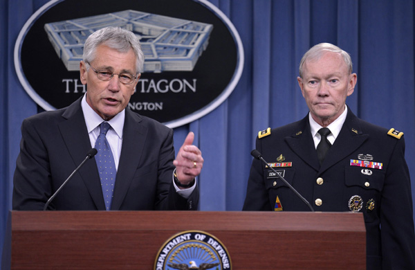 Pentagon chief plans to reduce US army size