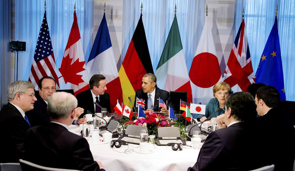 G7 leaders say not to participate in planned Sochi summit