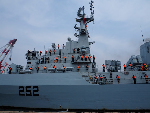 Pakistan Navy ship reaches China for exercise - World
