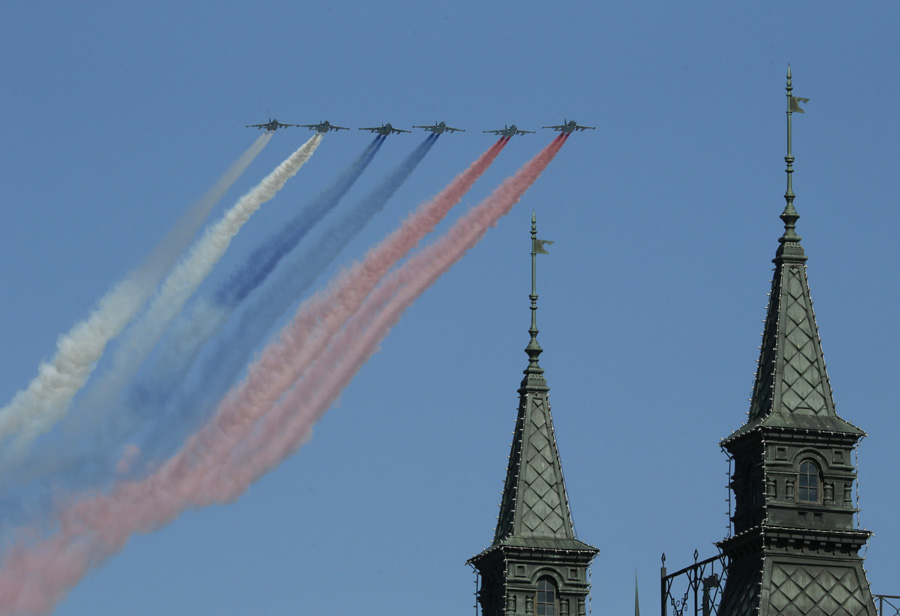 Victory Day parade held in Moscow's Red Square[1]- Chinadaily.com.cn