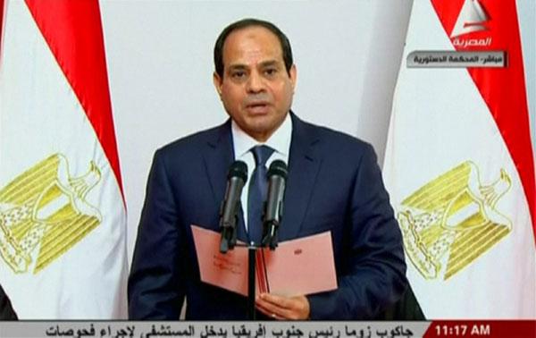 人体艺术sisi_sisi sworn in as egypt\'s president
