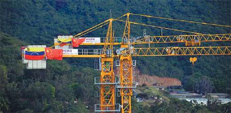 China, Venezuela secure $5 billion in financial deals