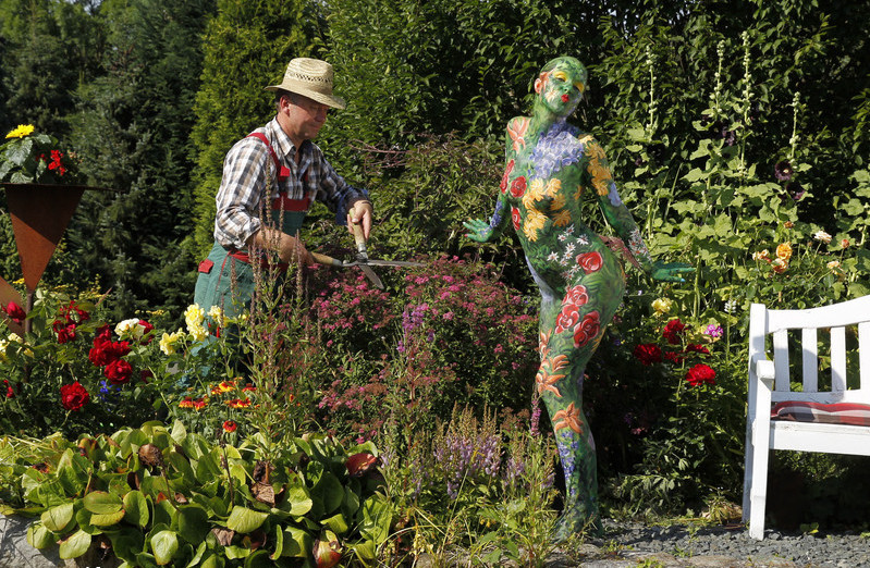 when a gardener meets a floral fairy