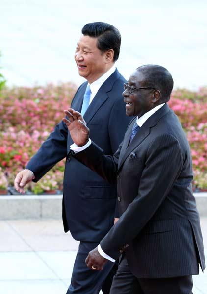 Agreements help economy of Zimbabwe