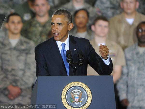 Obama reiterates no ground troops against IS