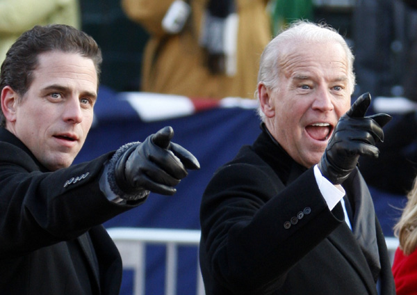 Biden's son discharged from Navy after drug test