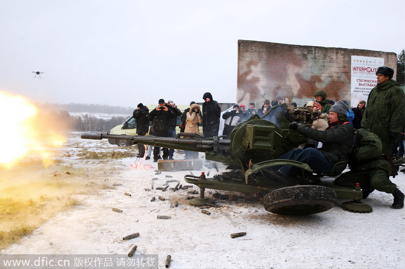 Elite Russian forces demonstrate skills[2]- Chinadaily.com.cn